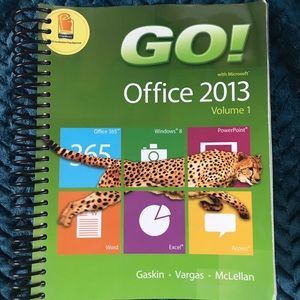 Other - Microsoft Office 2013 Volume 1 Book